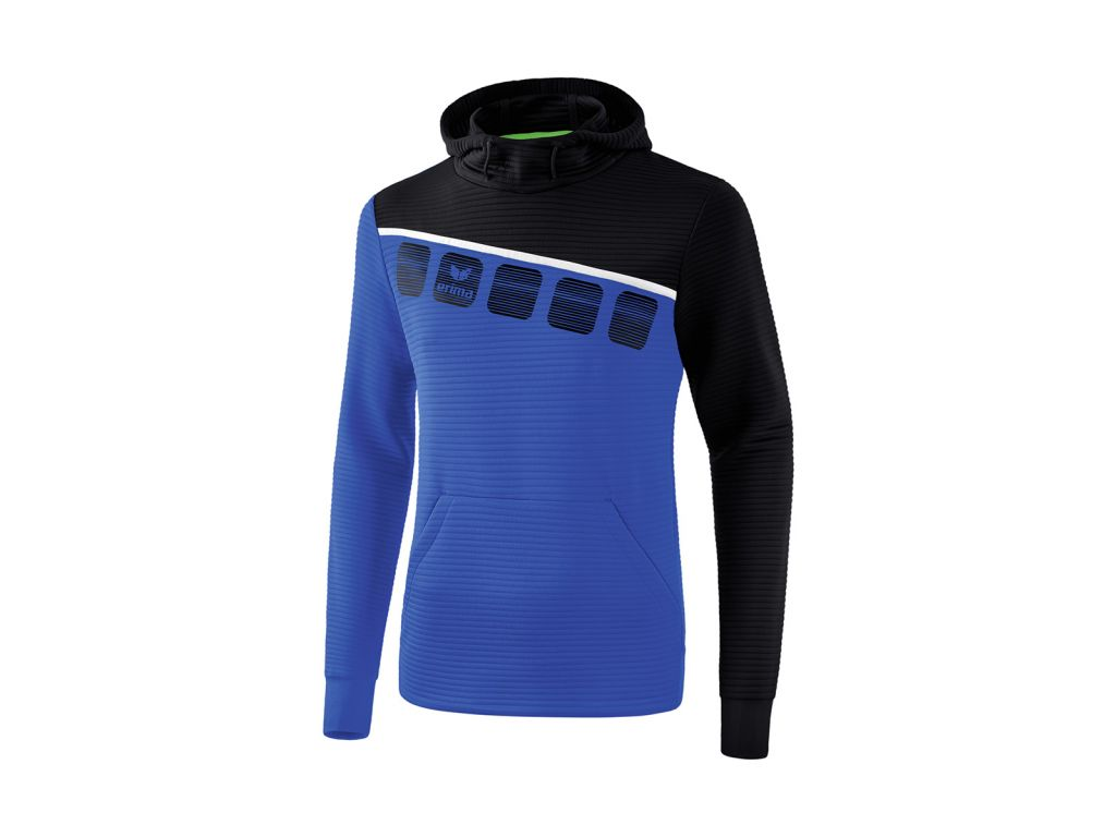 Erima - 5-C sweatshirt met capuchon