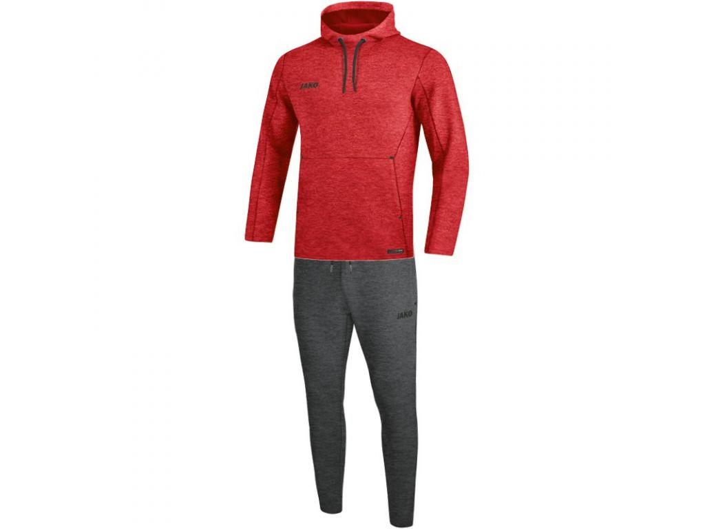 Jako - Joggingpak met sweaterkap Premium Basics