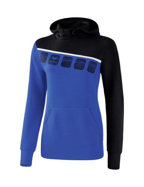 Erima - 5-C sweatshirt met capuchon Dames