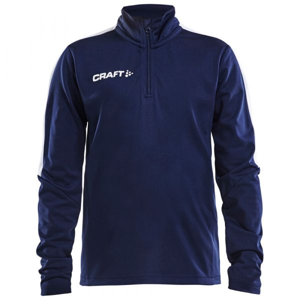 CRAFT - PROGRESS HALFZIP LS TEE