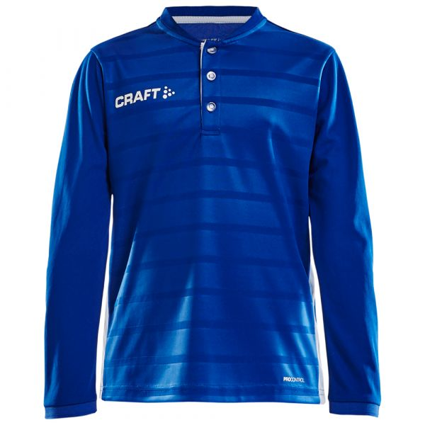 CRAFT - PRO CONTROL BUTTON JERSEY LS